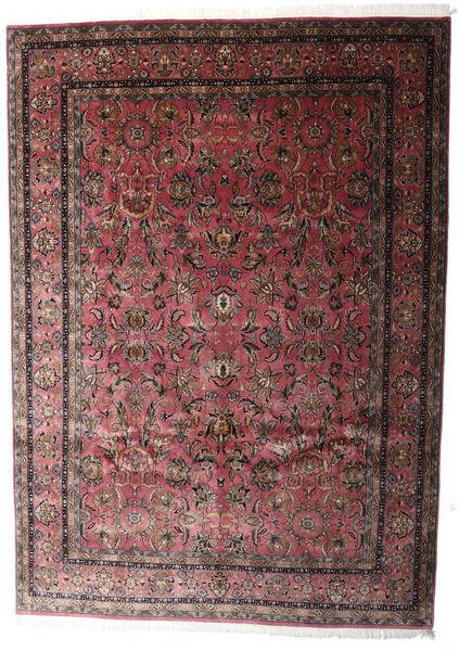 Keshan Indo Matto 248X347 Itämainen Käsinsolmittu Tummanruskea/Tummanpunainen (Villa, Intia)