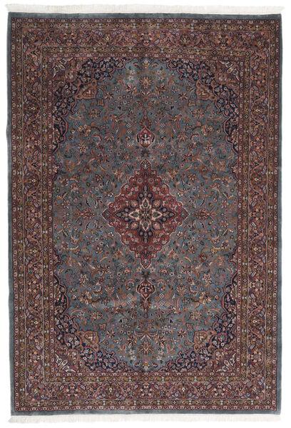 Keshan Indo Matto 203X299 Itämainen Käsinsolmittu Tummanruskea/Tummanharmaa (Villa, Intia)