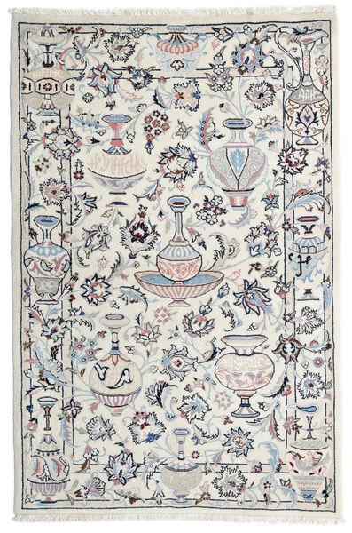 Kashmar Matto 105X157 Itämainen Käsinsolmittu Vaaleanharmaa/Beige (Villa, Persia/Iran)