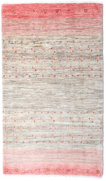Loribaft Persia Matto 82X141 Moderni Käsinsolmittu Vaaleanpunainen/Vaaleanharmaa/Beige (Villa, Persia/Iran)