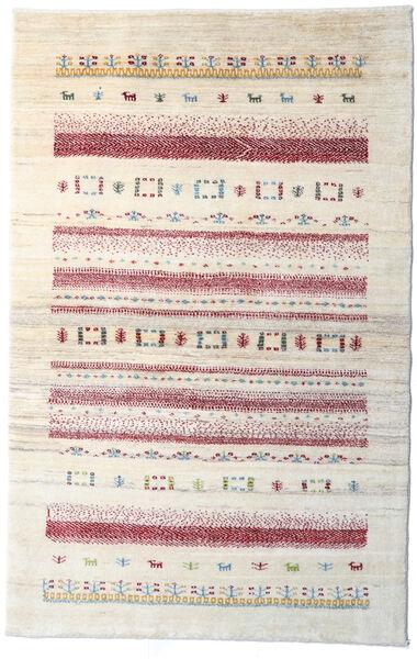 Loribaft Persia Matto 95X150 Moderni Käsinsolmittu Beige/Vaaleanharmaa (Villa, Persia/Iran)