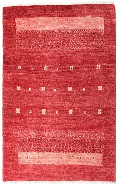 Loribaft Persia Matto 83X130 Moderni Käsinsolmittu Punainen/Ruoste (Villa, Persia/Iran)
