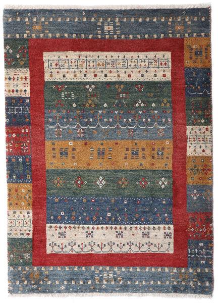 Loribaft Persia Matto 72X103 Moderni Käsinsolmittu Tummanharmaa/Tummanpunainen/Vaaleanharmaa (Villa, Persia/Iran)