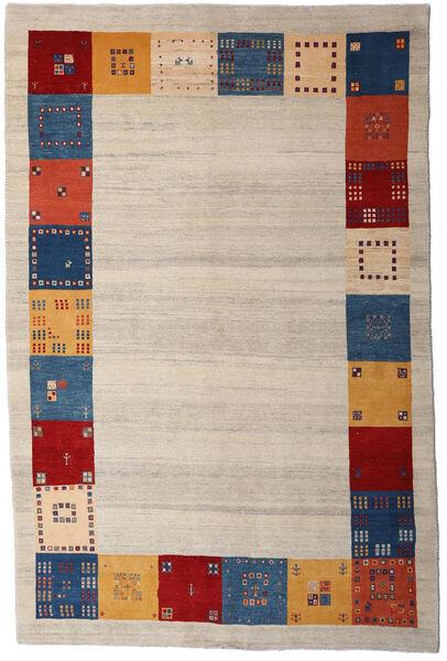 Loribaft Persia Matto 168X255 Moderni Käsinsolmittu Vaaleanharmaa/Tummanvioletti (Villa, Persia/Iran)