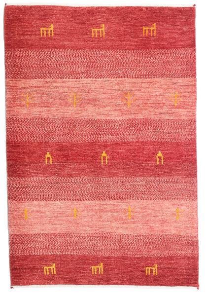 Loribaft Persia Matto 85X125 Moderni Käsinsolmittu Vaaleanpunainen/Ruoste/Punainen (Villa, Persia/Iran)