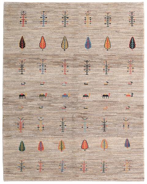 Loribaft Persia Matto 154X195 Moderni Käsinsolmittu Vaaleanharmaa/Vaaleanruskea (Villa, Persia/Iran)