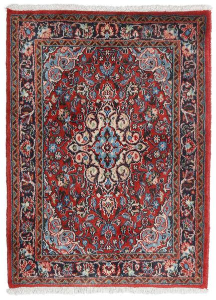 Hamadan Shahrbaf Matto 71X95 Itämainen Käsinsolmittu Tummanpunainen/Vaaleanharmaa (Villa, Persia/Iran)