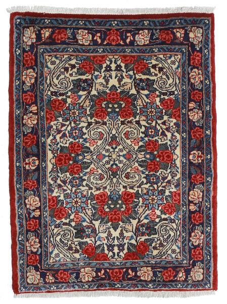 Sarough Matto 58X80 Itämainen Käsinsolmittu Tummanharmaa/Musta (Villa, Persia/Iran)