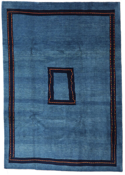 Loribaft Persia Matto 205X295 Moderni Käsinsolmittu Tummansininen/Sininen (Villa, Persia/Iran)