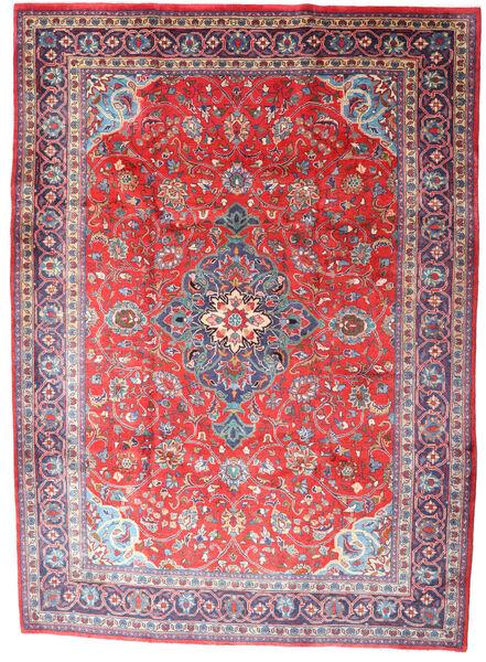 Mahal Matto 227X315 Itämainen Käsinsolmittu Vaaleanharmaa/Vaaleanpunainen (Villa, Persia/Iran)