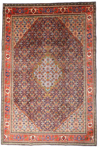Ardebil Matto 215X320 Itämainen Käsinsolmittu Tummanpunainen/Tummanvioletti (Villa, Persia/Iran)