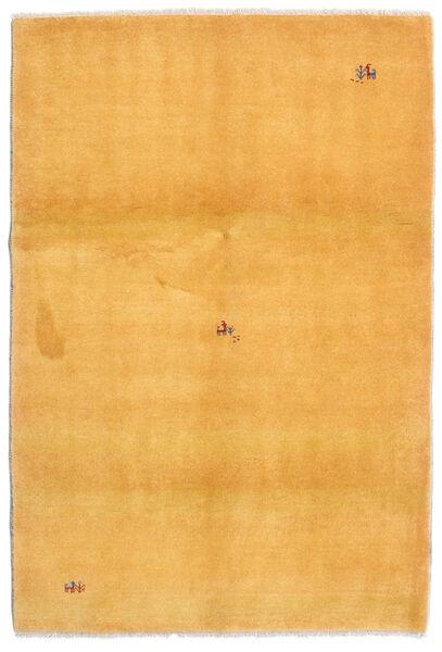 Loribaft Persia Matto 126X185 Moderni Käsinsolmittu Vaaleanruskea/Keltainen (Villa, Persia/Iran)
