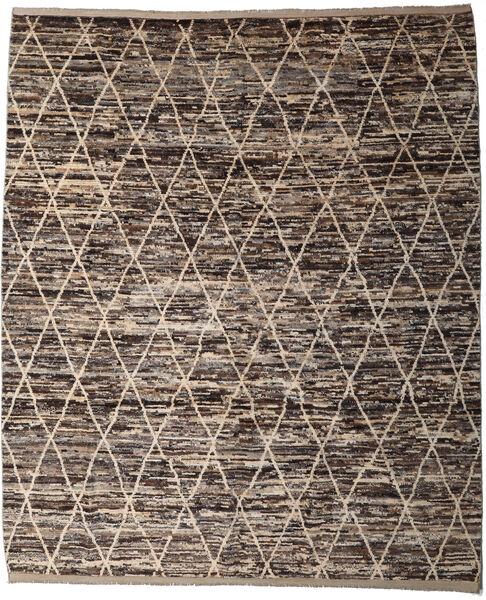 Moroccan Berber - Afghanistan Matto 250X293 Moderni Käsinsolmittu Tummanharmaa/Vaaleanharmaa Isot (Villa, Afganistan)