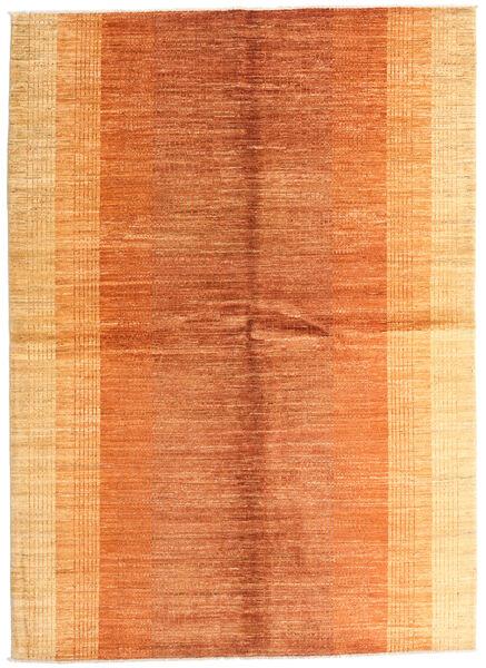 Battuta Matto 170X234 Moderni Käsinsolmittu Oranssi/Tummanbeige (Villa, Afganistan)