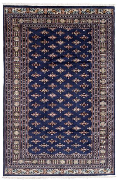 Pakistan Bokhara 2Ply Matto 182X276 Itämainen Käsinsolmittu Tummanvioletti/Vaaleanharmaa (Villa, Pakistan)