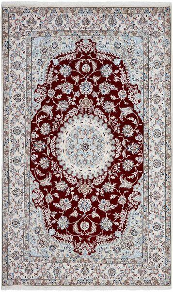 Nain 9La Matto 150X248 Itämainen Käsinsolmittu Vaaleanharmaa/Tummanruskea (Villa/Silkki, Persia/Iran)