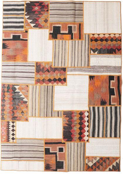 Tekkeh Kelim Matto 160X228 Moderni Käsinkudottu Vaaleanruskea/Beige (Villa, Persia/Iran)