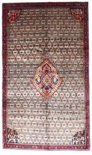 Koliai Matto 152X260 Itämainen Käsinsolmittu Tummanruskea/Vaaleanharmaa (Villa, Persia/Iran)