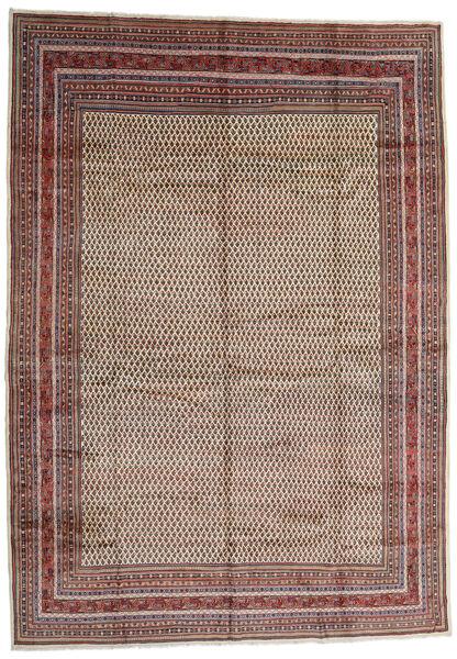 Sarough Mir Matto 308X434 Itämainen Käsinsolmittu Vaaleanharmaa/Ruskea Isot (Villa, Persia/Iran)