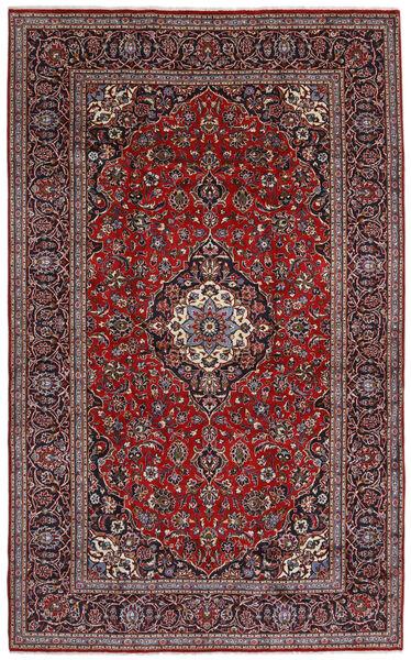 Keshan Matto 250X405 Itämainen Käsinsolmittu Tummanpunainen/Musta Isot (Villa, Persia/Iran)