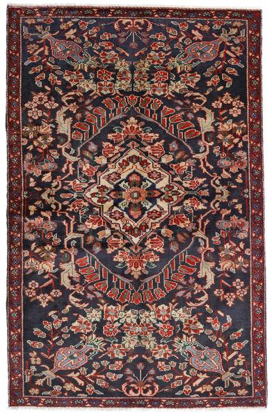 Bakhtiar Matto 133X205 Itämainen Käsinsolmittu Tummanharmaa/Tummanpunainen (Villa, Persia/Iran)