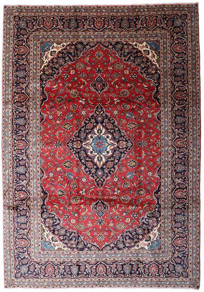 Keshan Matto 241X350 Itämainen Käsinsolmittu Vaaleanvioletti/Tummanpunainen (Villa, Persia/Iran)