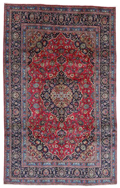 Mashad Matto 196X314 Itämainen Käsinsolmittu Tummanharmaa/Tummansininen (Villa, Persia/Iran)