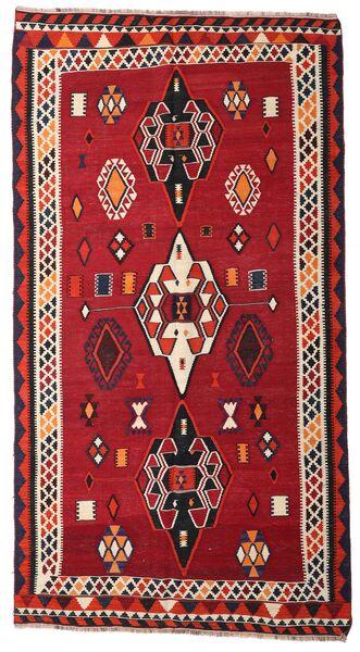 Kelim Vintage Matto 163X304 Itämainen Käsinkudottu Käytävämatto Punainen/Tummanruskea (Villa, Persia/Iran)