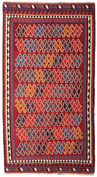 Kelim Vintage Matto 150X280 Itämainen Käsinkudottu Käytävämatto Tummanpunainen/Tummanvioletti (Villa, Persia/Iran)