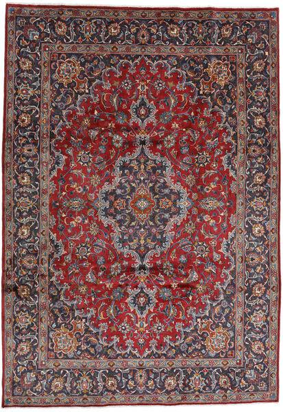 Mashad Matto 244X348 Itämainen Käsinsolmittu Tummanpunainen/Tummanvioletti (Villa, Persia/Iran)