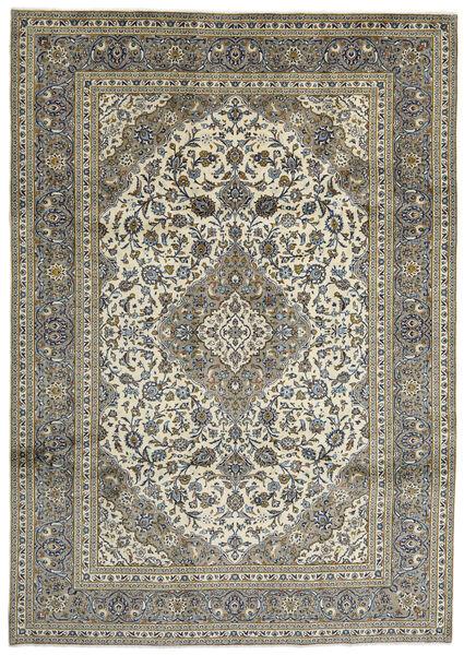 Keshan Matto 247X348 Itämainen Käsinsolmittu Tummanharmaa/Oliivinvihreä (Villa, Persia/Iran)