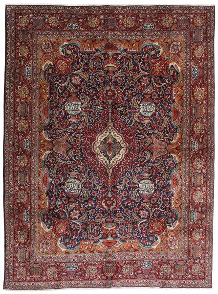 Kashmar Matto 288X387 Itämainen Käsinsolmittu Tummanpunainen/Tummanruskea Isot (Villa, Persia/Iran)
