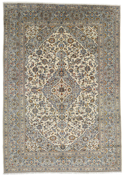 Keshan Matto 247X348 Itämainen Käsinsolmittu Tummanharmaa/Vaaleanharmaa (Villa, Persia/Iran)