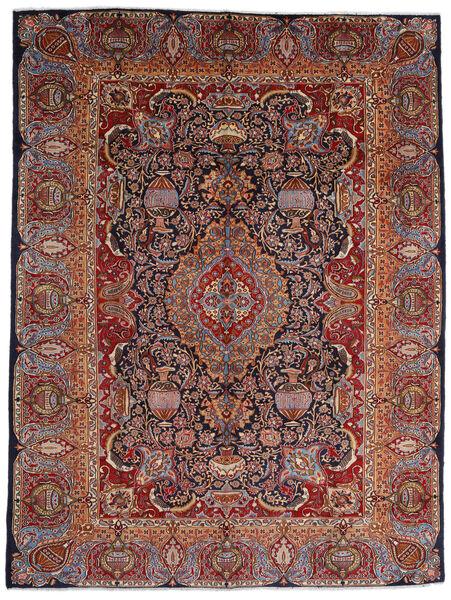 Kashmar Matto 289X386 Itämainen Käsinsolmittu Tummanpunainen/Tummanruskea Isot (Villa, Persia/Iran)