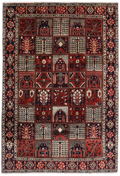 Bakhtiar Matto 225X327 Itämainen Käsinsolmittu Tummanpunainen/Tummanruskea (Villa, Persia/Iran)