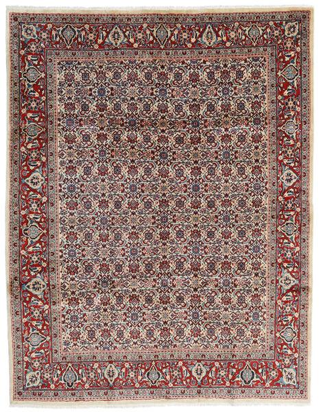 Mahal Matto 245X320 Itämainen Käsinsolmittu Beige/Tummanruskea (Villa, Persia/Iran)