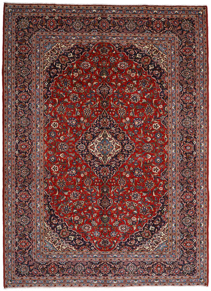 Keshan Matto 297X409 Itämainen Käsinsolmittu Tummanpunainen/Musta Isot (Villa, Persia/Iran)