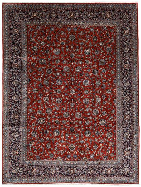 Keshan Matto 278X367 Itämainen Käsinsolmittu Tummanpunainen/Tummanruskea Isot (Villa, Persia/Iran)