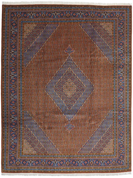 Ardebil Matto 294X385 Itämainen Käsinsolmittu Tummanpunainen/Tummanruskea/Tummanharmaa Isot (Villa, Persia/Iran)