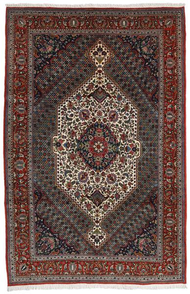 Bakhtiar Matto 204X314 Itämainen Käsinsolmittu Tummanpunainen/Tummanharmaa/Tummanruskea (Villa, Persia/Iran)