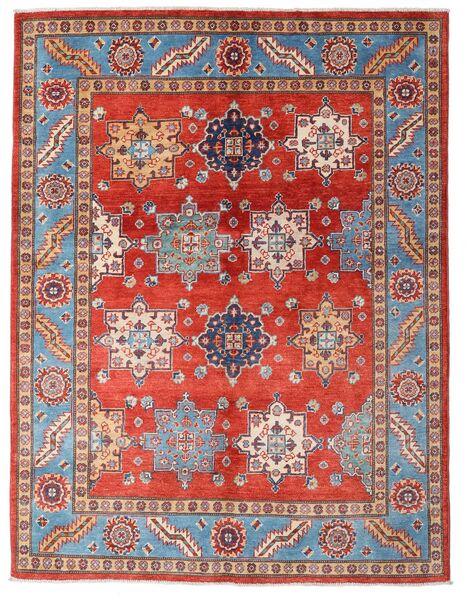 Kazak Matto 149X195 Itämainen Käsinsolmittu Ruoste/Tummanpunainen (Villa, Afganistan)