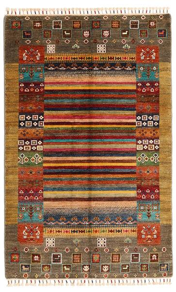 Shabargan Matto 119X186 Moderni Käsinsolmittu Vaaleanruskea/Ruskea (Villa, Afganistan)