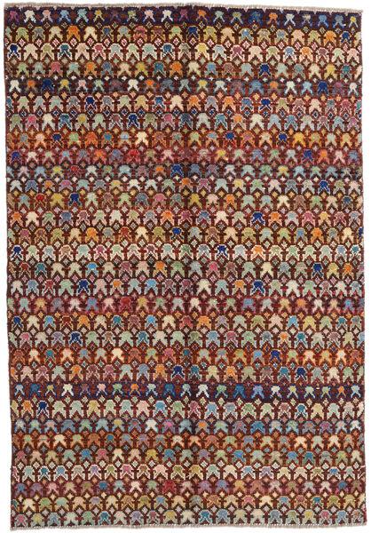 Moroccan Berber - Afghanistan Matto 171X249 Moderni Käsinsolmittu Tummanruskea/Vaaleanruskea (Villa, Afganistan)