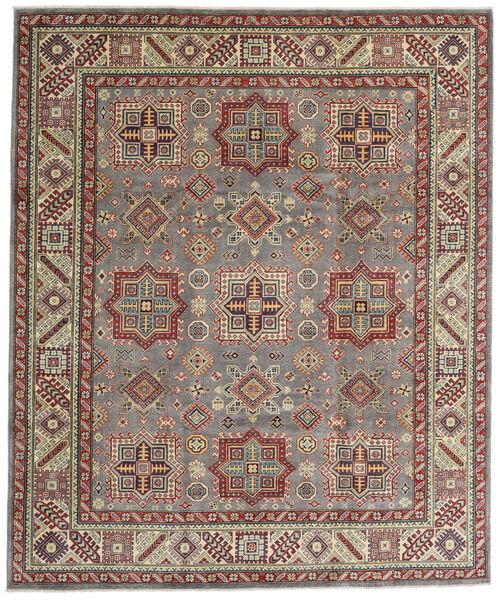 Kazak Matto 246X294 Itämainen Käsinsolmittu Vaaleanharmaa/Vaaleanruskea (Villa, Afganistan)
