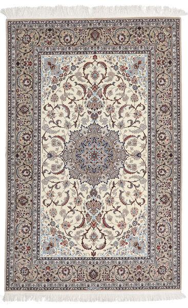Isfahan Silkkiloimi Allekirjoitettu Yazdani Matto 157X228 Itämainen Käsinsolmittu Vaaleanharmaa/Beige (Villa/Silkki, Persia/Iran)