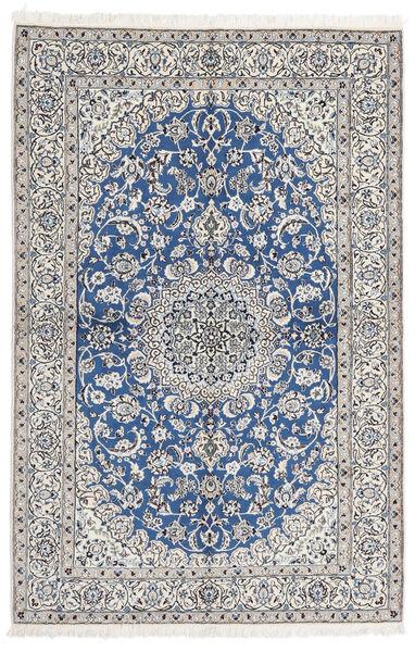 Nain 9La Matto 168X255 Itämainen Käsinsolmittu Vaaleanharmaa/Sininen (Villa/Silkki, Persia/Iran)
