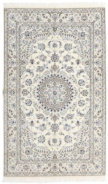 Nain 9La Matto 152X253 Itämainen Käsinsolmittu Beige/Vaaleanharmaa (Villa/Silkki, Persia/Iran)