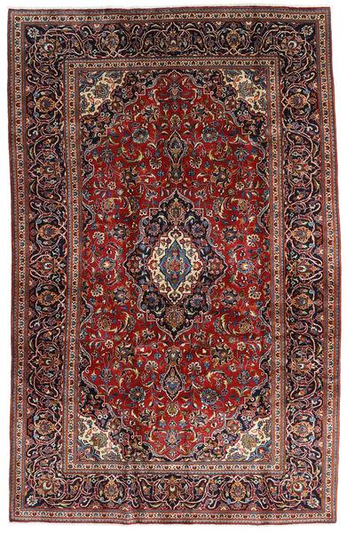 Keshan Matto 205X320 Itämainen Käsinsolmittu Tummanpunainen/Tummanruskea (Villa, Persia/Iran)