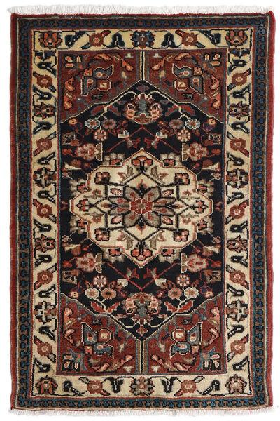 Asadabad Matto 81X121 Itämainen Käsinsolmittu Tummanruskea/Musta/Vaaleanruskea (Villa, Persia/Iran)