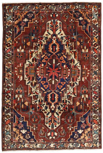 Bakhtiar Matto 201X296 Itämainen Käsinsolmittu Tummanpunainen/Tummanruskea (Villa, Persia/Iran)